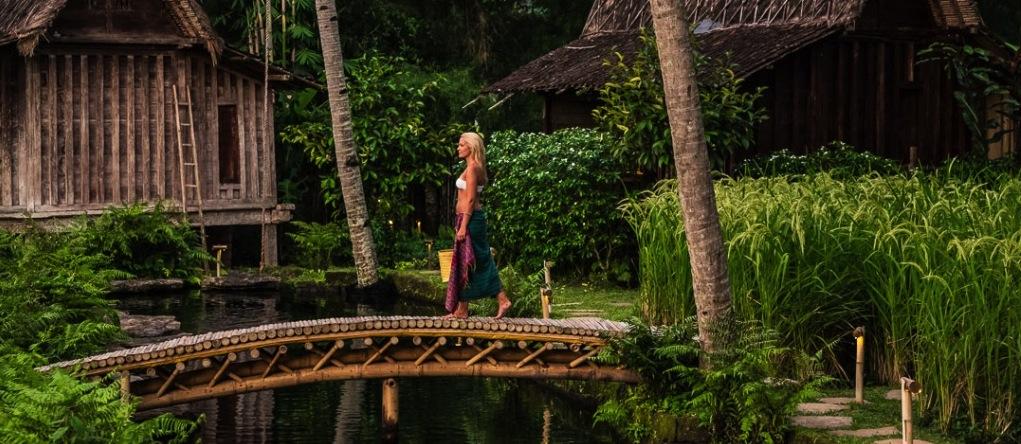 Bambu Indah - hotels insolites - Ubud