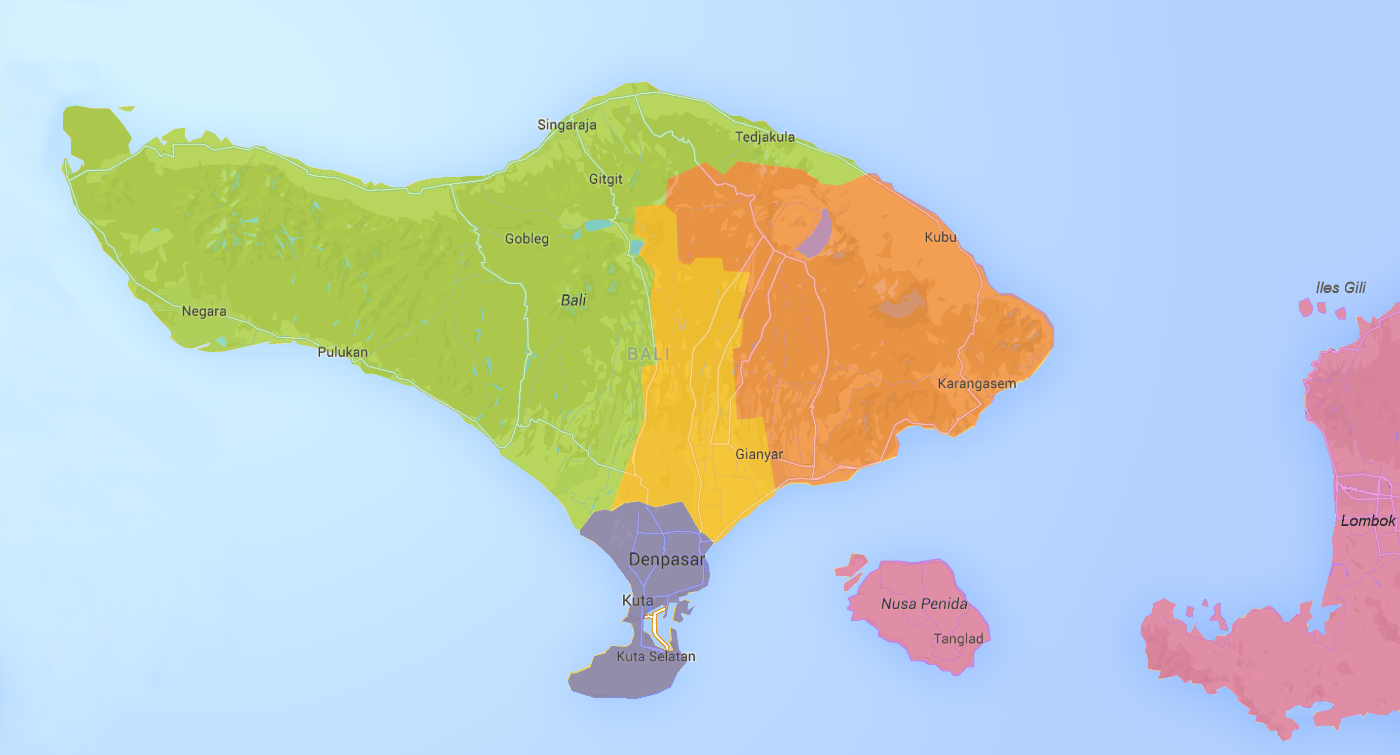Carte Bali Dans Le Monde.Bali Fr Guide De Bali Pour Les Francophones