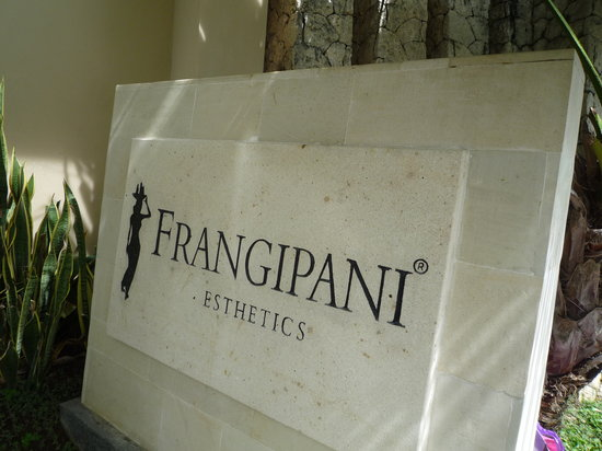 Le frangipanier, arbre emblématique de Bali, est aussi la marque de fabrique de ce spa aux bienfaits considérables.
