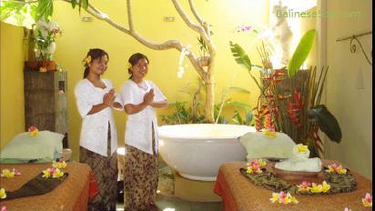 L'atmosphère typiquement balinaise de ce spa est envoûtante. (Crédit photo : www.balinesespa.com)